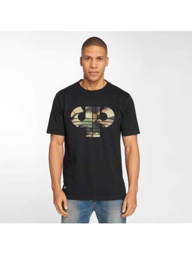 Orange 100% Original Boutique en vente Cuir Hombres Icône Camiseta Camo En Noir vente pas cher exclusif à vendre tOWAjh