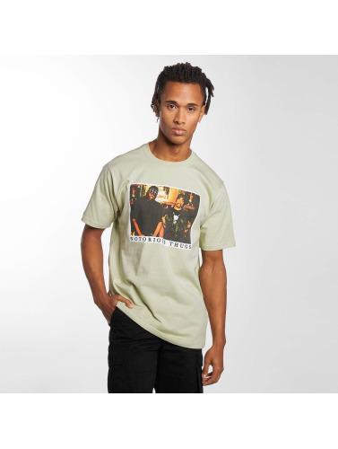 bonne vente Hombres Camiseta Pelle Voyous Pelle Notoires Dans Verde pas cher professionnel à vendre 2014 site officiel jeu 2015 2n1HU