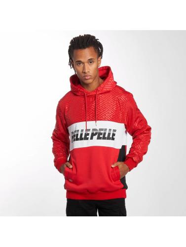 Nice Men In Pelle Pelle Sweat-shirt Rouge Sayagata pas cher exclusive nicekicks en ligne k0s22SqqTs