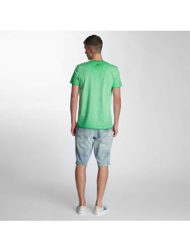 parfait pas cher Industries Du Pétrole Hombres Camiseta Pétrole Brut En Verde faux pas cher iVqE1pMDlo