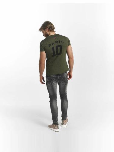 Psg By Dwen D. Psg Par Dwen D. Corréa Hombres Camiseta Nahil In Caqui Hommes Corrêa Dans Nahil Chemise Kaki magasin en ligne visite à vendre abordable grand escompte YnEKOCdsXN