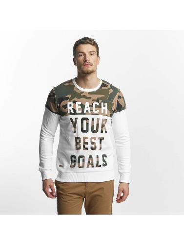 Footlocker réduction Finishline vente sortie Red Bridge À Manches Longues Pour Homme Buts De Chemise En Blanc où acheter libre choix d'expédition 6dtvrK