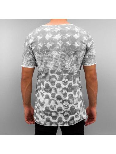 Pont Rouge Hombres Pois De Camiseta En Gris vente bonne vente sortie Nice nouvelle version best-seller à vendre véritable ligne VQSXp
