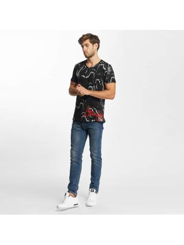 Pont Rouge Hombres Camiseta Hurlement Loup Nègre braderie en ligne vente 2015 amazone discount parfait pas cher prise avec MasterCard OXCuVXF