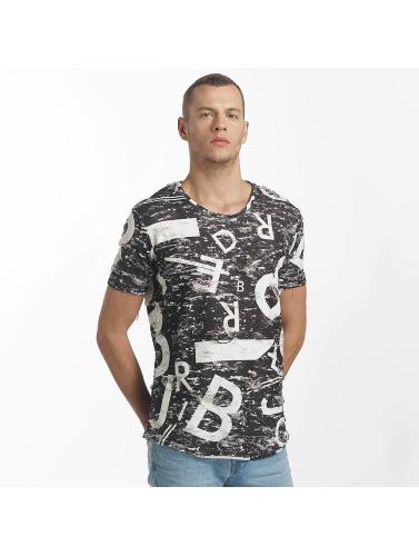 Pont Rouge Hombres Lettres Et Chiffres Camiseta Negro vente chaude sortie EM2AG5c6Px