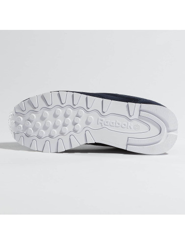 Femmes Reebok Chaussures En Cuir Classique Dans Mh Indigo la sortie abordable Manchester à vendre FRI8vmOJm