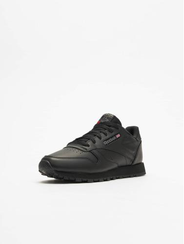 véritable ligne vente 100% authentique Femmes Reebok Chaussures De Sport En Cuir Cl En Noir UHAMO