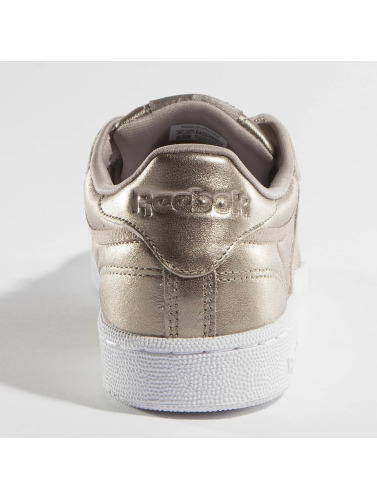 Les Femmes Reebok Sneakers C 85 Club Fondu En Perle Métallique Or nicekicks V0g75