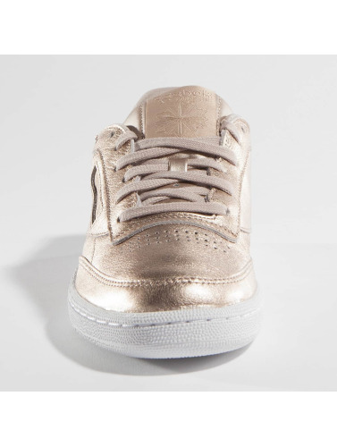 6d0778376bb7b Rose Les Perle 85 Femmes Sneakers Reebok En C Métallique Club Fondu  tFIXxnqwx