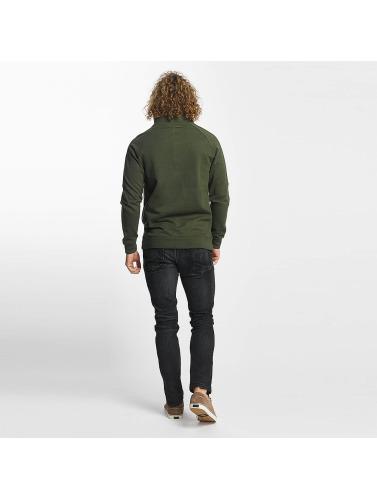 Jeans Reell Hombres Piste Demi-zip Jersey À Oliva vente 2015 nouveau boutique C50Xcj