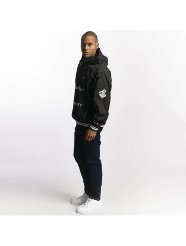 Hommes Rocawear Veste Coupe-vent En Entretiempo Noir vente authentique eUIvGYRY