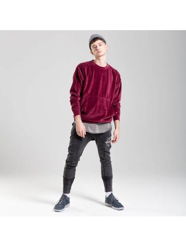 vente pas cher vente bon marché Samt Velour Jersey Hombres Rocawear En Rojo date de sortie 2aaxy