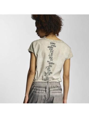 bas prix sortie Femmes Ange Rock Dans Emilie Chemise Grise officiel à vendre braderie en ligne K2RhlD
