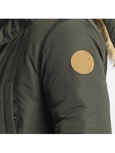 Briller Parka Originale Manteau Des Hommes En Taslan Olive photos à vendre jeu exclusif Klckh9I2F