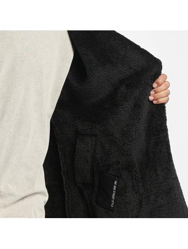 Sixième Juin Hombres Abrigo Shearling Oversize Classique Negro explorer sneakernews bon marché Livraison gratuite rabais meilleur choix 73FGD0hCx