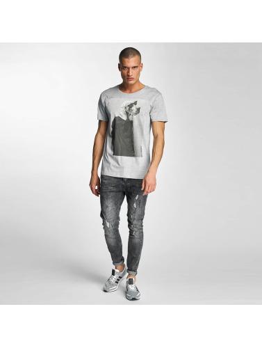 Ciel Hombres Rebelles Camiseta Oskar En Gris déstockage de dédouanement dégagement 100% original magasin en ligne pas cher marchand NMC6MnI5