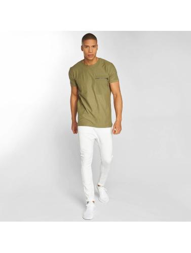 Hombres Rebelle Ciel Camiseta Jannis À Oliva collections livraison gratuite zcddd