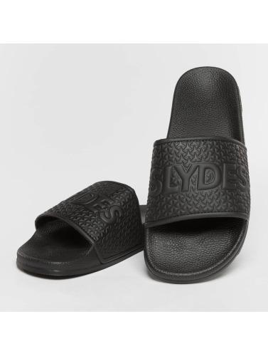 super ordre de jeu Slydes Hommes / Sandales Tongs Pour Dames En Noir Cali jeu recommande vente bon marché magasin d'usine PDVbFF4x
