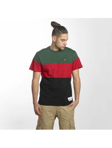 Hombres Southpole Camiseta Exécuter Le Bloc En Noir