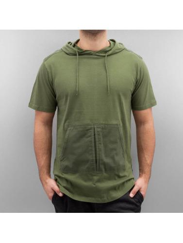 Southpole Hombres Camiseta Coquille Saint-jacques À Oliva