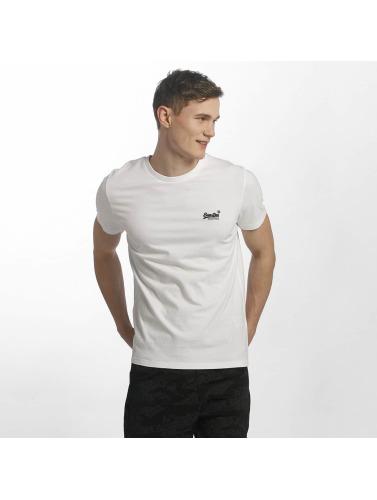 Superdry Hombres Vintage Label Orange Camiseta Brodé En Blanco Livraison gratuite recommander I2bUiY