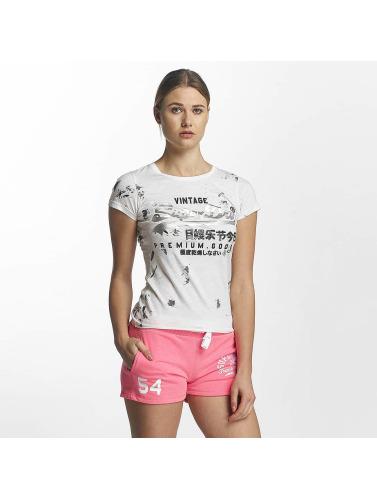 Mujeres Superdry Camiseta Entrée Doodle De Produits Haut De Gamme En Blanco officiel de sortie remise vente Footaction acheter discount promotion Dépêchez-vous fptfUG