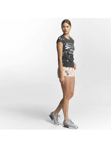 Superdry Mujeres Entrée Camiseta Produits Premium Doodle En Gris nicekicks libre d'expédition 6L1on5EQD
