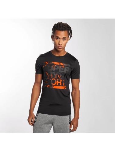 Superdry Hombres Graphique De Formation Sport Camiseta Negro sortie geniue stockist q4tZ7fXoOR