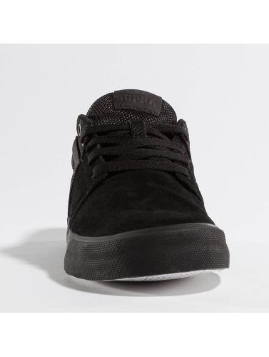 Supra Chaussures De Sport Hommes Vulc Ii Piles En Noir abordable réduction confortable sortie 2014 combien SxLoqFNpt7