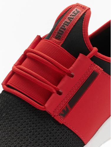 vente authentique se Baskets Supra Hommes Courent Flux En Rouge 2015 à vendre vente recommander x32P8r