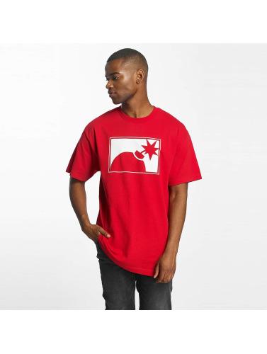 Les Centaines Hombres Camiseta Pour Toujours Halfbomb En Rojo Livraison gratuite 2014 vente classique images en ligne vente nouvelle arrivée w0OKn