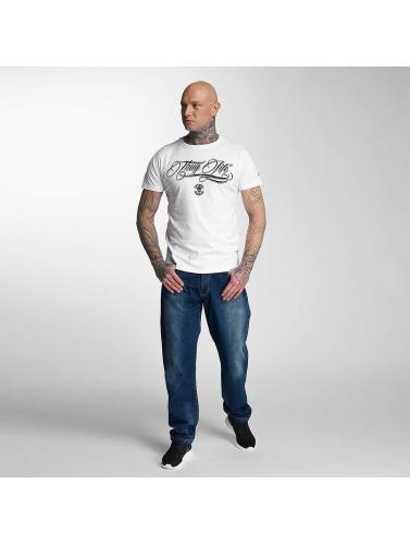 Vie De La Gangster En Blanco Kursiv Camiseta Hombres mPNnv0O8yw