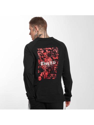sortie avec paypal chaud Thug Life De Rue Manches Longues Hommes En Noir sneakernews de sortie parfait à vendre amazon pas cher WHtZB