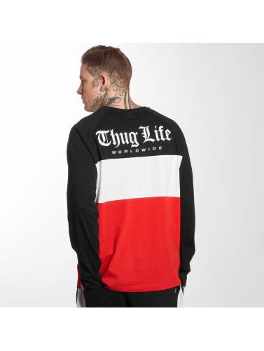 Thug Life À Manches Longues Pour Homme Lion Shirt En Rouge vente visite 2015 nouvelle vente AbsAArZLbo
