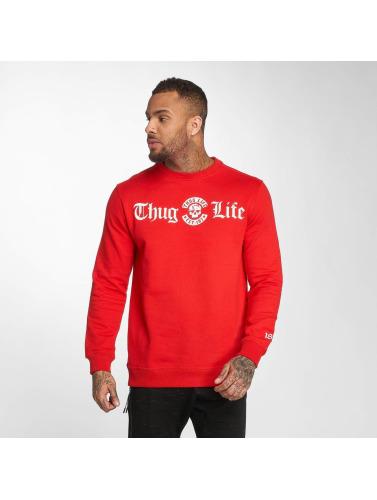 Gangster Jersey Hombres Vie B.distress En Rojo vue eiKH3BG