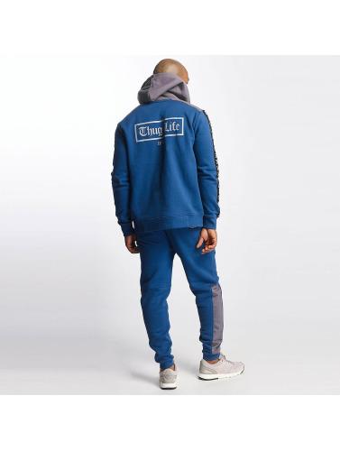 officiel de vente officiel Hoodies Vie De Gangster Hommes En Fil Bleu Fermeture Éclair collections de sortie Livraison gratuite négociables obtenir authentique NYQ7ZH13pi