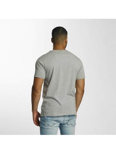 Timberland Hombres Camiseta Dustan Rivière Imprimé Camo En Gris réduction confortable GLHeMCJmLl