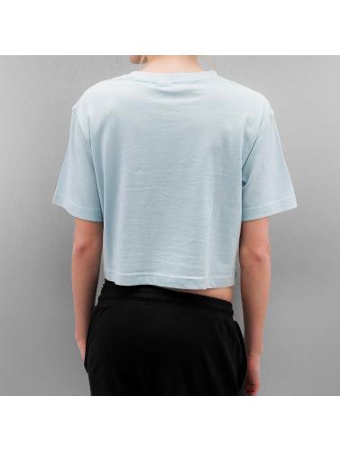 clairance faible coût réduction SAST Classiques Urbains Mujeres Dames Camiseta Surdimensionné Courtes Azul collections en ligne sortie 100% garanti vente visite yeKDhima