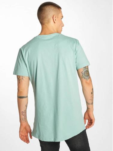 Classiques Urbains Hombres Camiseta Forme Longue En Azul visite pour pas cher shopping en ligne uNIMxqq