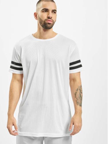 réduction ebay choix en ligne Classiques Urbains Hombres Maille Bande Camiseta En Blanco 5J7At