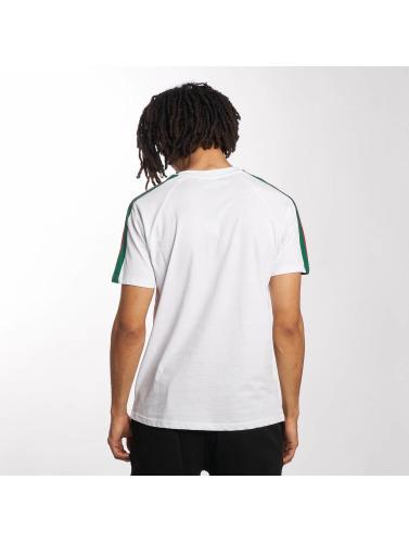 Classiques Urbains Hombres Camiseta Bande Raglan En Blanco recommander rabais pas cher professionnel classique pas cher mBgq9f