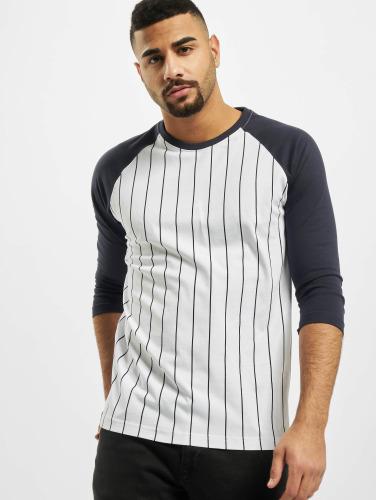 Urban Classics À Manches Longues Pour Homme Contraste Shirt Blanc amazone jeu à la mode railYWVI