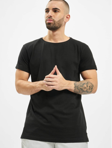 Classiques Urbains Hombres Camiseta Negro Turnup Best-seller nJVl3xZm