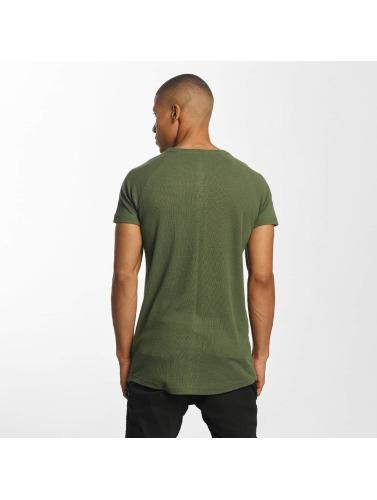 Classiques Urbains Hombres Camiseta Flammé Thermique À Oliva vente Finishline dernière ligne ensoleillement magasin discount recherche à vendre XPPUFW
