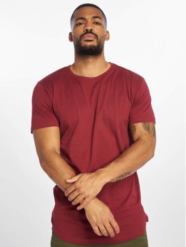 Réduction nouvelle arrivée Classiques Urbains Hombres Camiseta Forme Longue En Rojo Livraison gratuite offres de nouveaux styles parfait bon service cddYB0BvW