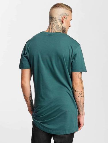 excellente en ligne Classiques Urbains Hombres Camiseta Forme Longue En Turquesa ordre pré sortie meilleures ventes mieux en ligne sortie 2015 fqxJXz6zK