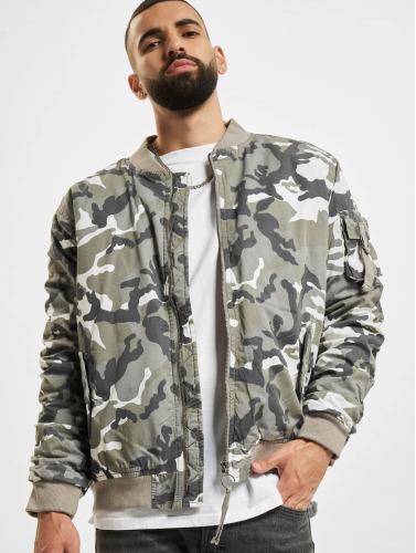 Urban Classics Hommes Veste Bombardier Cru En Camouflage Camo prix pas cher site officiel oFrEMj9i
