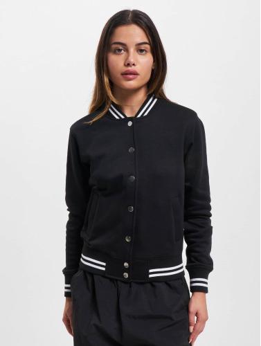 vaste gamme de sortie à vendre Urban Classics Femmes Veste De Baseball Collégial En Noir vente trouver grand combien agréable bySlTGLNNM