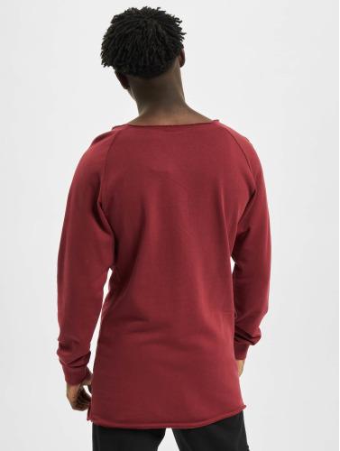 Jersey Classiques Urbain De Hombres Éponge Bord Long Ouvert Rojo prix incroyable IivNLWi
