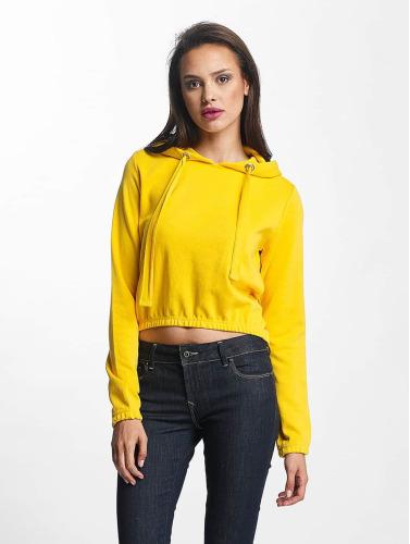 Urban Classics Femmes Sweat-shirt Jaune Interlock sneakernews bon marché remises en ligne i2MPA